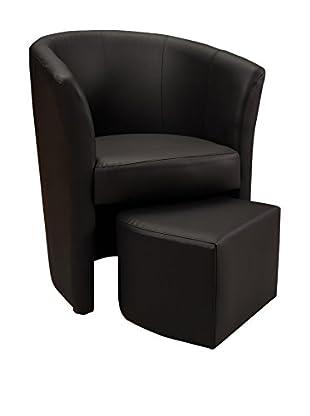 Officine Fiam Sessel Gelso schwarz