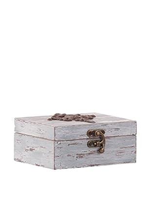 Vical Home Caja de Almacenamiento Azul