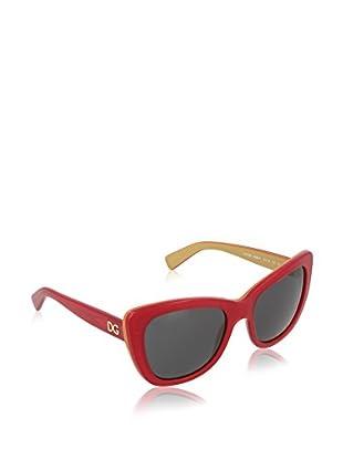 Dolce & Gabbana Occhiali da sole 4260 296887 (54 mm) Rosso/Dorato