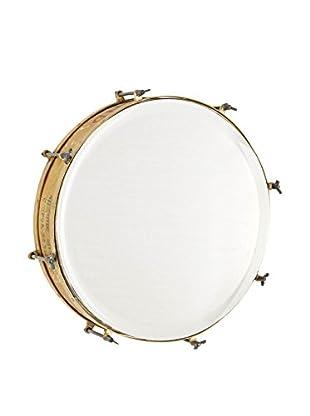 Vintage Espejo Drum Natural