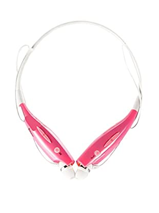 iPM Bluetooth Noise-Canceling Neckband Headset with Built-In Microphone, Pink
