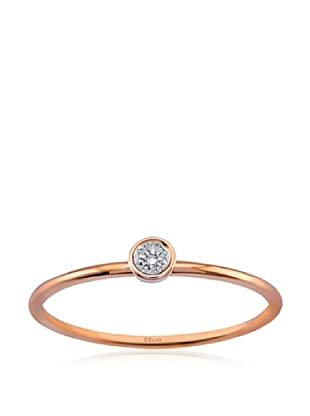 Divas Diamond Anillo Gemstone Design (Oro Rosa)