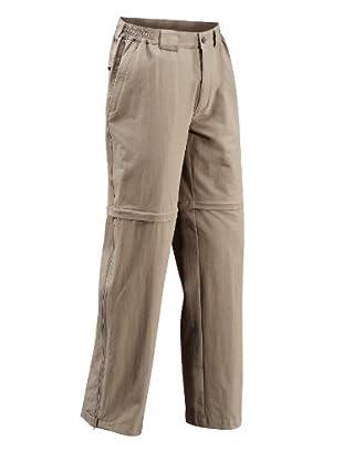 VAUDE Pantalón Farley Stretch T-Zip (Beige)