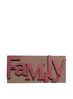 Lo+Demoda Schlüsselboard Famlily Letters