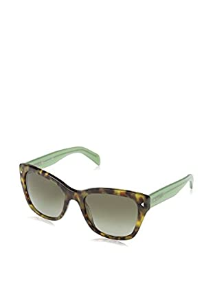 PRADA Gafas de Sol Mod. 09SS UEZ4K1 (54 mm) Havana / Verde
