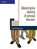 Administracion moderna de personal/ Modern Administration of Personnel