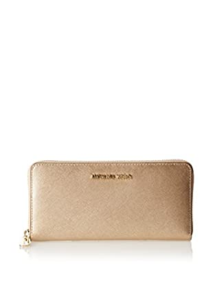 Michael Kors Cartera Jet Set Travel Metallic Wallet