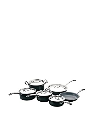 BergHOFF Earthchef Montane 11-Piece Cookware Set, Black