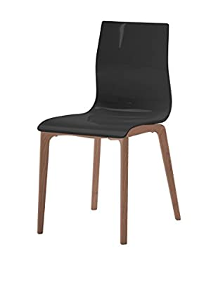 Domitalia Gel Chair, Black/Brown