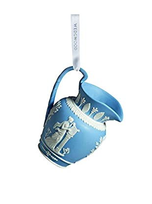 Wedgwood Iconic Pitcher Ornament, Blue