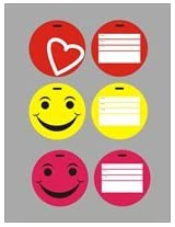 LTPC COLOURFUL LUGGAGE TAG