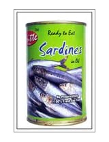 Britte Boiled Sardin Fish With Refined Oil 450 Grams