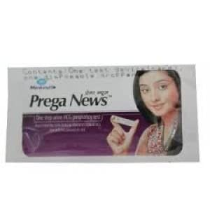 Prega News Pregnancy Test Strip