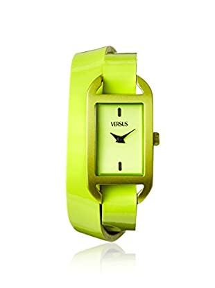 Versus by Versace Women's SGQ050013 Ibiza Green Leather Watch