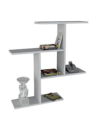 Dekorister Bücherregal Safe weiß 22x910x94,5cm