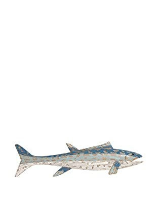 Wood Fish Wall Décor