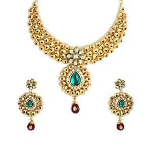 Kundan Necklace Set by Sia Jewellery - NSET-004