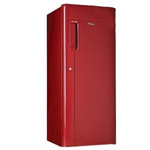 Whirlpool 205 IceMagic Refrigerator-Red