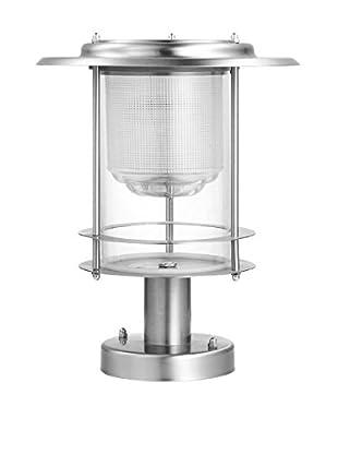 BTR-Germany Pro Design Solar Post Light, Silver