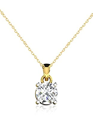 Friendly Diamonds Set catenina e pendente FDP6257Y Oro Giallo