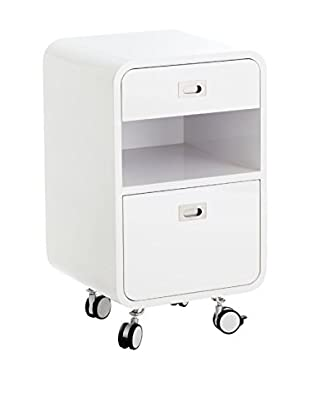 Contemporary Office Cajonera Plano Blanco