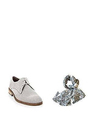 Ortiz & Reed Zapatos derby + Fular SET-ZMP7-BU22