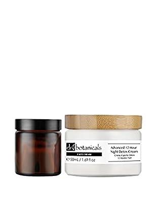 DR BOTANICALS Kit de Tratamiento Facial y El Contorno De Ojos 2 Piezas Advanced 12 Hour Night+Advanced Bio-Brightening