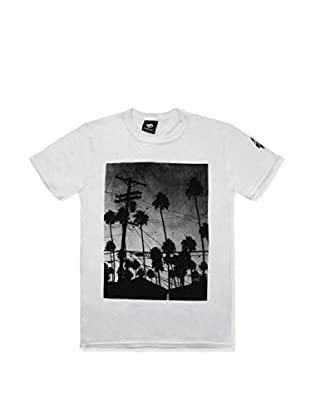 SEVENTYSEVEN Camiseta Manga Corta Electric Palms