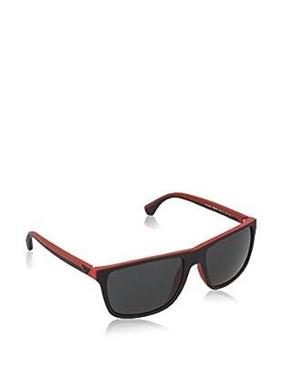 EMPORIO ARMANI Gafas de Sol 4033 532487 (56 mm) Negro / Rojo