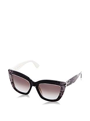 Valentino Gafas de Sol 710S_102 (51 mm) Negro / Blanco