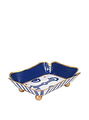 Jayes Bits & Bridle Trinket Tray, Navy