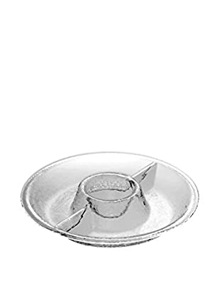 Pebbled Acrylic Chip & Dip Tray, Clear