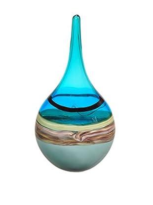 La Meridian Freeform Art Glass Vase