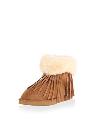Koolaburra Women's Haley Fringe Boot (Chestnut)