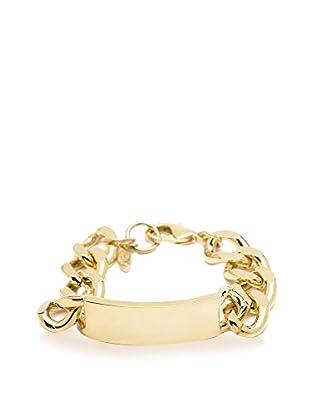 Ettika 18K Gold-Plated ID Bracelet