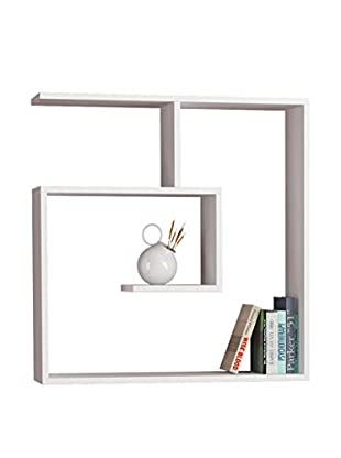 Best seller living Estantería De Pared Laby Blanco