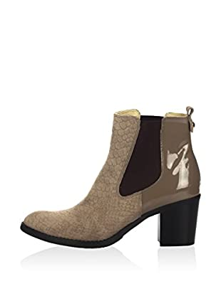 Joana & Paola Ankle Boot Gn-701A-Cap