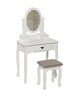 Chic Orange Tocador 2 Piezas Dressing Table Talla 4 14/16