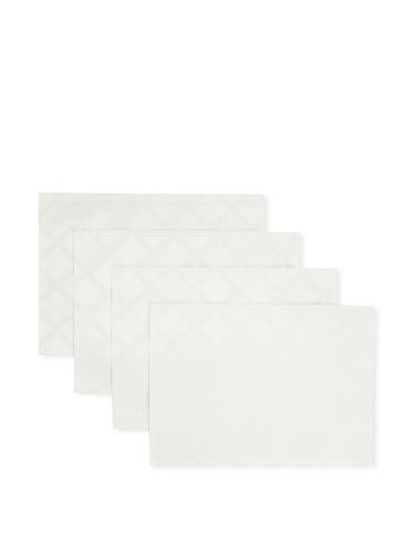 Lenox Set of 4 Laurel Leaf Placemats (White)
