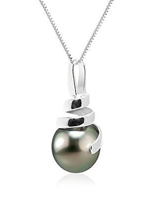 Pearl Addict Collar Plateado