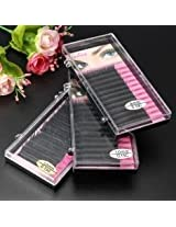 8/10/12mm Natural Soft Thick Curl False Extension Eyelashes (8MM)