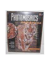 "Photomosaics, ""Tiger"", 500 Piece Jigsaw Puzzle By Robert Silvers By Buffalo Games"