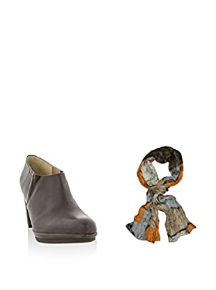 Ortiz&Reed Zapatos abotinados + Fular SET-ZMP8-BU26