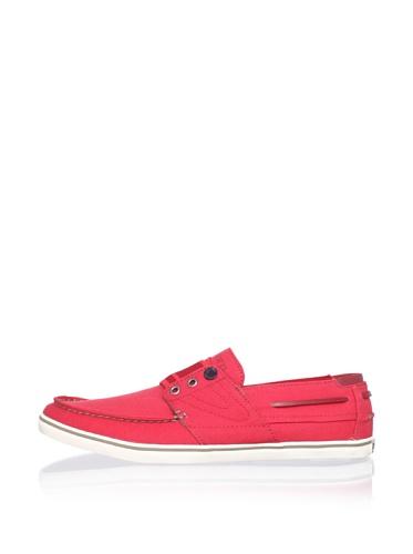 Tretorn Men's Smogensson Canvas Sneaker (Bittersweet Red)