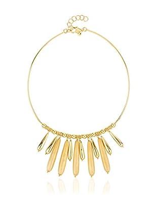 Coralia Leets Halskette  vergoldetes Messing 18 Karat