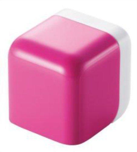 ELECOM iPod/iPhone5/4S/4/3GS/3G 対応 AC充電器 cube型 USB ピンク AVA-ACU01PN