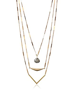 David Aubrey Multi-Layer Chain Necklace