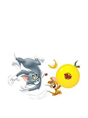 LO+DEMODA Wandtattoo LED Light Tom And Jerry