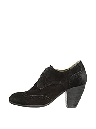 Fly London Zapatos Amah Cour (Negro)