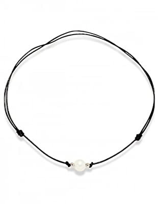 Valero Pearls 60200912 - Collar de mujer con perla cultivada de agua dulce, 90 cm